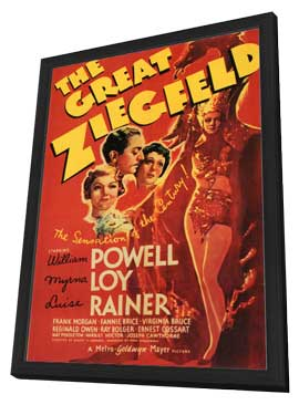 The Great Ziegfeld - 11 x 17 Movie Poster - Style A - in Deluxe Wood Frame