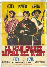 The Greatest Robbery in the West - 27 x 40 Movie Poster - Spanish Style A