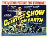 The Greatest Show on Earth - 22 x 28 Movie Poster - Half Sheet Style A