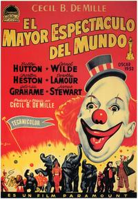 The Greatest Show on Earth - 11 x 17 Movie Poster - Spanish Style A