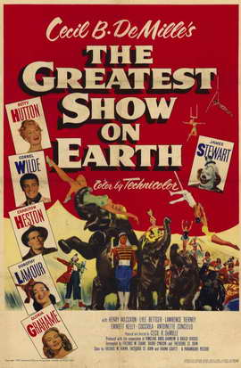 The Greatest Show on Earth - 11 x 17 Movie Poster - Style B