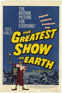 The Greatest Show on Earth - 27 x 40 Movie Poster - Style A