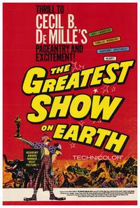 The Greatest Show on Earth - 27 x 40 Movie Poster - Style B