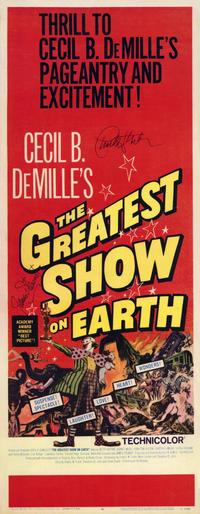 The Greatest Show on Earth - 14 x 36 Movie Poster - Insert Style A