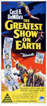 The Greatest Show on Earth - 14 x 36 Movie Poster - Australian Style B