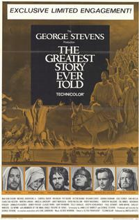 The Greatest Story Ever Told - 11 x 17 Movie Poster - Style B