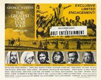 The Greatest Story Ever Told - 22 x 28 Movie Poster - Half Sheet Style A