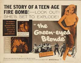 The Green-Eyed Blonde - 22 x 28 Movie Poster - Half Sheet Style A