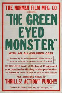 The Green-Eyed Monster - 11 x 17 Movie Poster - Style A