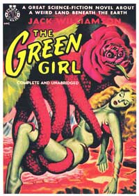 The Green Girl - 11 x 17 Retro Book Cover Poster