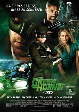 The Green Hornet - 11 x 17 Movie Poster - German Style B
