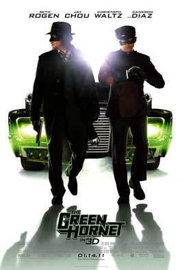 The Green Hornet - 11 x 17 Movie Poster - Style E