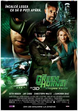 The Green Hornet - 27 x 40 Movie Poster - Russian Style A