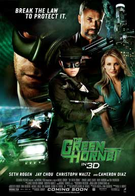 The Green Hornet - 11 x 17 Movie Poster - Style G