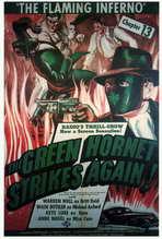 The Green Hornet Strikes AgainGreen Hornet Strikes Again - 27 x 40 Movie Poster - Style B