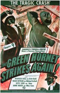 The Green Hornet Strikes AgainGreen Hornet Strikes Again - 11 x 17 Movie Poster - Style A