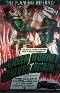 The Green Hornet Strikes AgainGreen Hornet Strikes Again - 11 x 17 Movie Poster - Style B