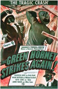 The Green Hornet Strikes AgainGreen Hornet Strikes Again - 27 x 40 Movie Poster - Style A