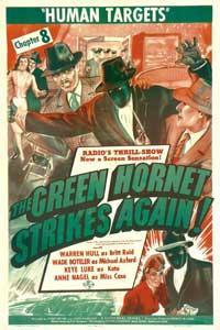 The Green Hornet Strikes AgainGreen Hornet Strikes Again - 27 x 40 Movie Poster - Style C