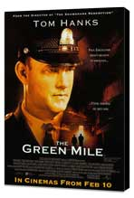The Green Mile - 11 x 17 Movie Poster - Style C - Museum Wrapped Canvas
