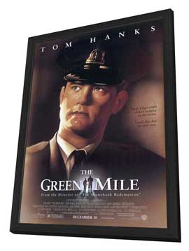 The Green Mile - 11 x 17 Movie Poster - Style A - in Deluxe Wood Frame