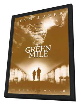 The Green Mile - 27 x 40 Movie Poster - Style B - in Deluxe Wood Frame