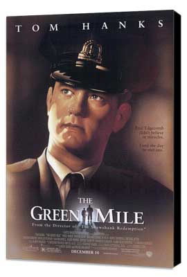 The Green Mile - 11 x 17 Movie Poster - Style A - Museum Wrapped Canvas