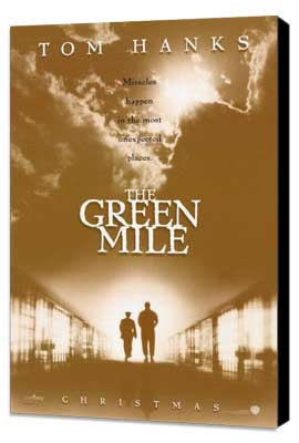 The Green Mile - 27 x 40 Movie Poster - Style B - Museum Wrapped Canvas