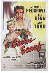 The Green Scarf - 11 x 17 Movie Poster - Style A