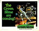 The Green Slime - 22 x 28 Movie Poster - Half Sheet Style A