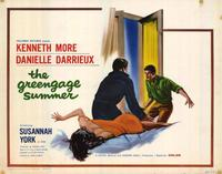 Greengage Summer - 22 x 28 Movie Poster - Half Sheet Style B