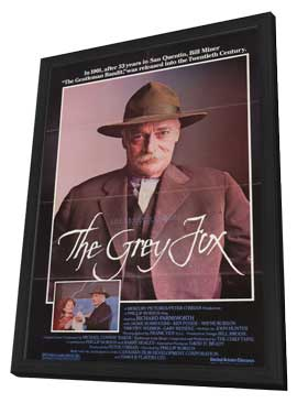 The Grey Fox - 11 x 17 Movie Poster - Style A - in Deluxe Wood Frame