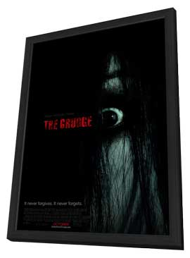 The Grudge - 11 x 17 Movie Poster - Style A - in Deluxe Wood Frame
