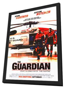 The Guardian - 11 x 17 Movie Poster - Style B - in Deluxe Wood Frame