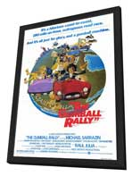 Gumball Rally - 27 x 40 Movie Poster - Style A - in Deluxe Wood Frame