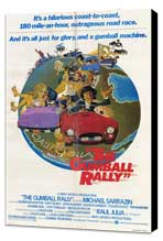Gumball Rally - 11 x 17 Movie Poster - Style A - Museum Wrapped Canvas