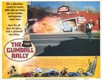 Gumball Rally - 11 x 14 Movie Poster - Style E