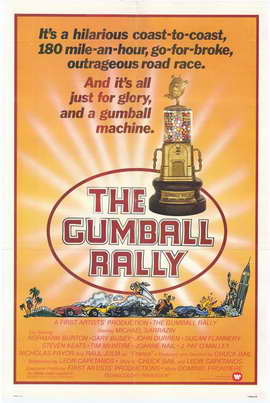 Gumball Rally - 27 x 40 Movie Poster - Style B