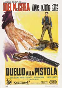 The Gunfight at Dodge City - 11 x 17 Movie Poster - Italian Style A