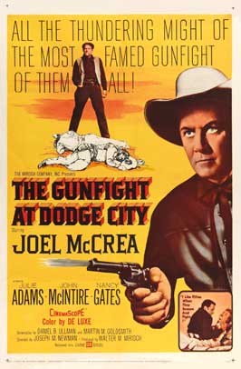 The Gunfight at Dodge City - 11 x 17 Movie Poster - Style A