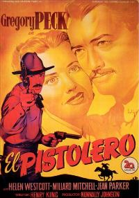 The Gunfighter - 27 x 40 Movie Poster - Italian Style A