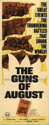 The Guns of August - 14 x 36 Movie Poster - Insert Style A