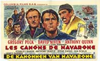 The Guns of Navarone - 11 x 17 Movie Poster - Belgian Style A