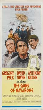 The Guns of Navarone - 14 x 36 Movie Poster - Insert Style B
