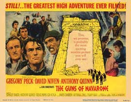 The Guns of Navarone - 11 x 14 Movie Poster - Style E