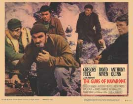 The Guns of Navarone - 11 x 14 Movie Poster - Style B
