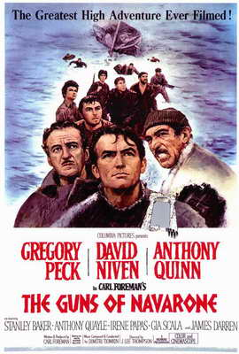 The Guns of Navarone - 27 x 40 Movie Poster - Style A