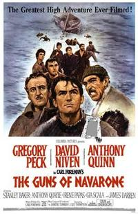The Guns of Navarone - 43 x 62 Movie Poster - Bus Shelter Style A