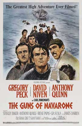 The Guns of Navarone - 11 x 17 Movie Poster - Style B