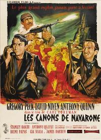 The Guns of Navarone - 27 x 40 Movie Poster - French Style A
